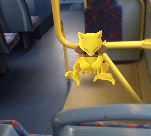 Abra knackered on the journey home.